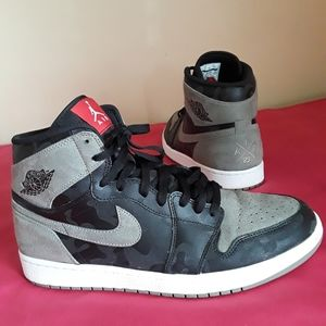 Nike Air Jordan 1 Retro High Camo Shadow 3M Sz 12